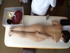 Oriental milf has massage and fucking part3