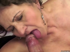 Kata is the almost all insatiable granny you can imagine. You can check out this hairy granny in action here as she swallows and gets drilled by that youthful schlong that makes her cum.