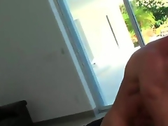 This blonde milf havent had sex in a while and this babe has to have sex since this babe is so horny and this guy here copulates her like crazy. She takes it like a real pro and loves the feel.