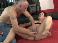 Wet pussy oldie Lawanda widens her legs and acquires stimulates with several diminutive vibrators. Mature woman Lawanda squirts with orgasm after pussy stimulation. Watch mature slut get wild pleasure