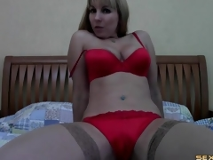 lingerie striptease webkamera