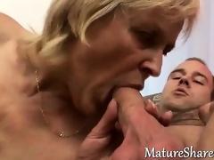 70yo granny enjoys a good fuck