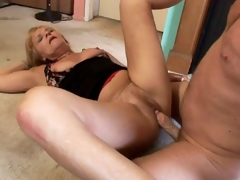 hardcore milf moden blonde blowjob oral hæler deepthroat fitte hårete