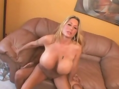 Curvy huge tits milf drilled in her cunt